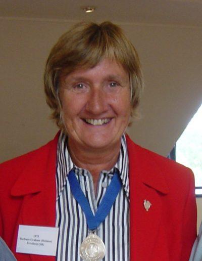 019 APS President Barbara Graham (Holmes) 1975