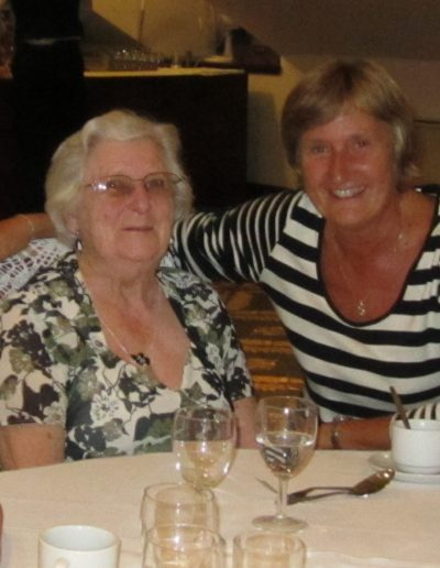 040 Barbara with Joyce who celebrates 65 years since leaving college!!