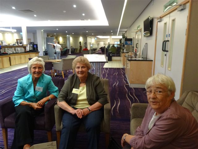 21 Members of 1958 relaxing in the lounge