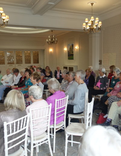 44 An enthralled audience