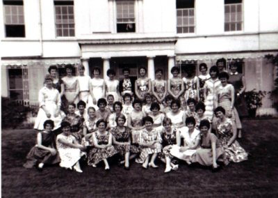 03-In front of Barkhill Front row 4th from left